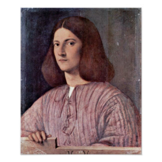 Giorgione - Portrait of a Young Man Poster