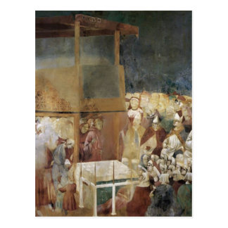 Giotto: Canonization of St Francis Post Cards