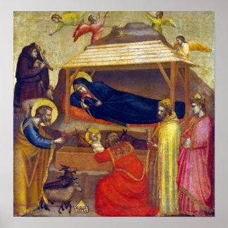 Giotto di Bondone The Adoration of the Magi Poster