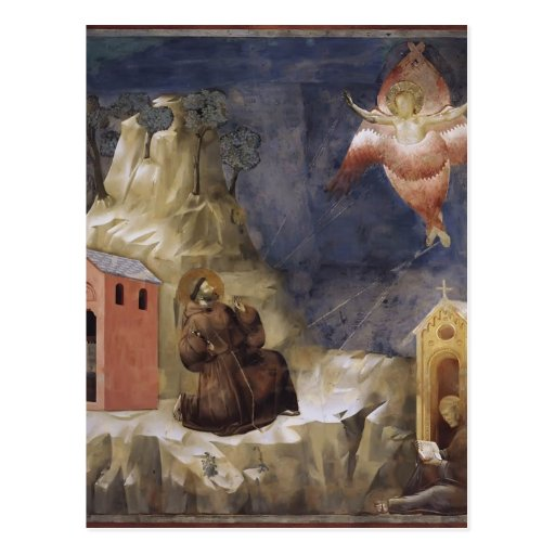 Giotto: Stigmatization of St. Francis Postcard