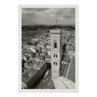Giotto's Belltower Poster