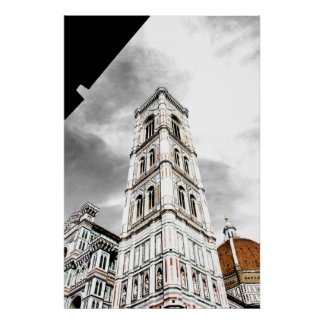 Giotto's Campanile (Bell Tower) Florence Italy Poster