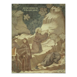 """Giotto's St. Francis Easter Cards 4.25"""" X 5.5"""" Invitation Card"""
