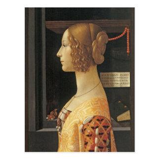 Giovanna degli Albizzi Tornabouni Postcard