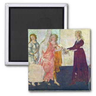 Giovanna degli Albizzi with Venus and the Graces b Magnet
