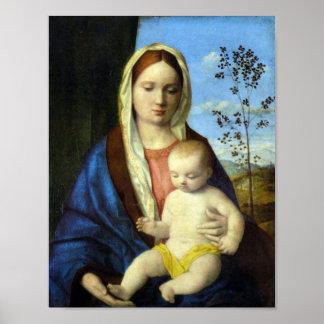 Giovanni Bellini-Madonna 3 Poster