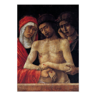 Giovanni Bellini-Pieta Poster