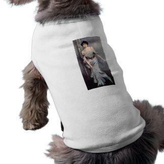 Giovanni Boldini - Mrs Charles Max Doggie T-shirt