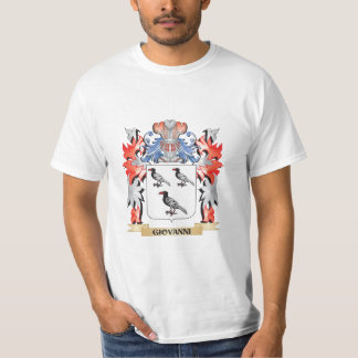 Giovanni Coat of Arms - Family Crest T-Shirt