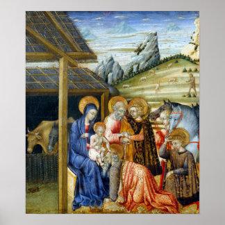 Giovanni di Paolo The Adoration of the Magi Poster