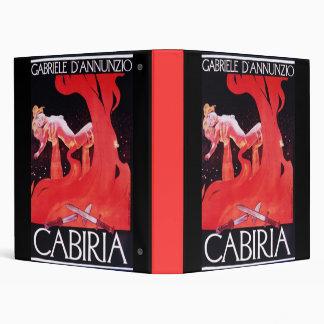 Giovanni Pastrone Cabiria 3 Ring Binder