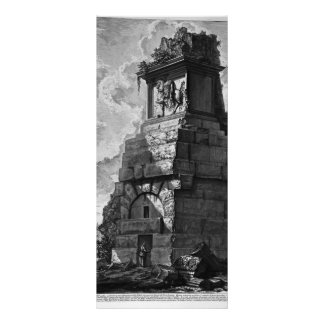 Giovanni Piranesi- Burial rooms of Augustus family Rack Cards