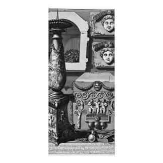 Giovanni Piranesi- Large urn of porphyry Customized Rack Card