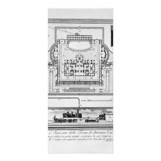 Giovanni Piranesi- The Roman antiquities Custom Rack Card
