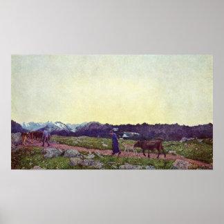 Giovanni Segantini - Nature Poster