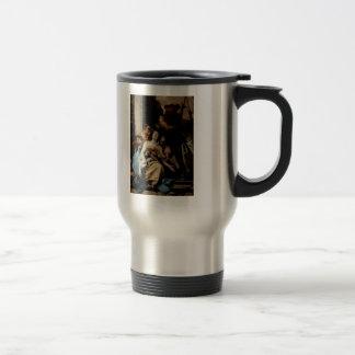 Giovanni Tiepolo- The Martyrdom of St Agatha Stainless Steel Travel Mug