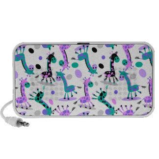 Girafe Haut-parleur Ordinateur Portable