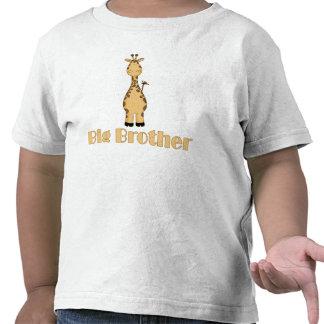Girafe mignonne de frère t-shirt