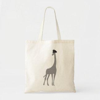 Girafe Strips Police Budget Tote Budget Tote Bag