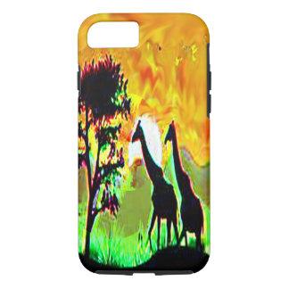 giraff pair african safari iphone7 case smartphone