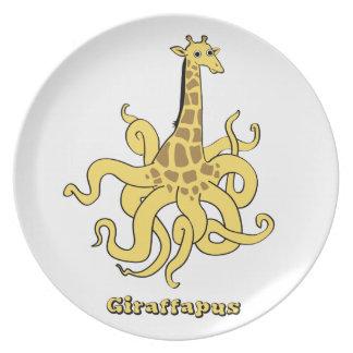 giraffapus plate