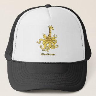 giraffapus trucker hat