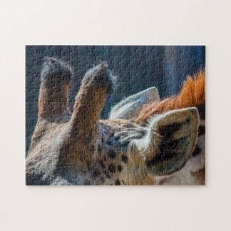 Giraffe 02 Digital Art - Puzzle