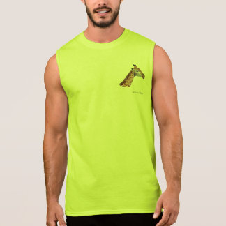 Giraffe 13 sleeveless shirt
