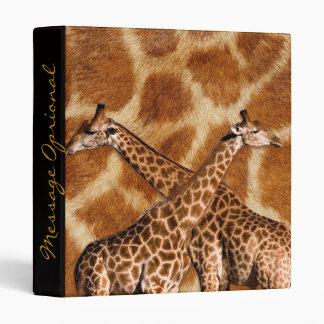 Giraffe 1A Binders Options