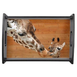 Giraffe_20151101_by_JAMFoto Serving Tray