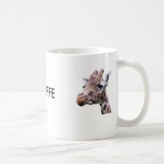 Giraffe 2-Faced Coffee Mug