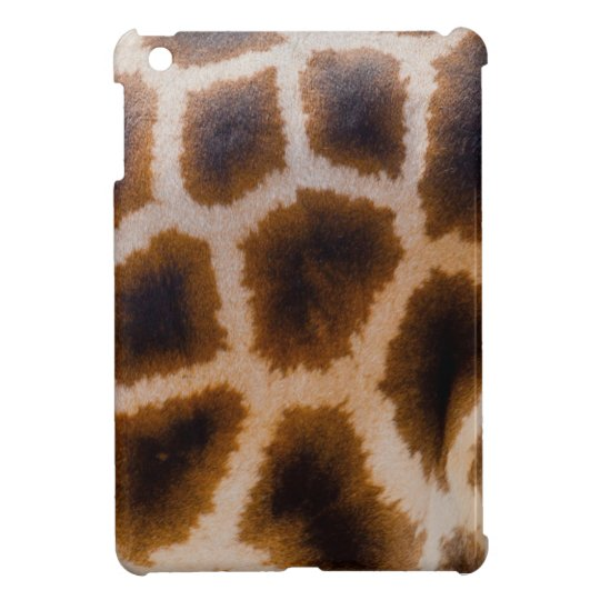Giraffe Abstract Design, iPad Mini Case Hard Shell