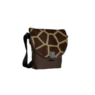 Giraffe Africa Animal Pattern Destiny Destiny's Courier Bag