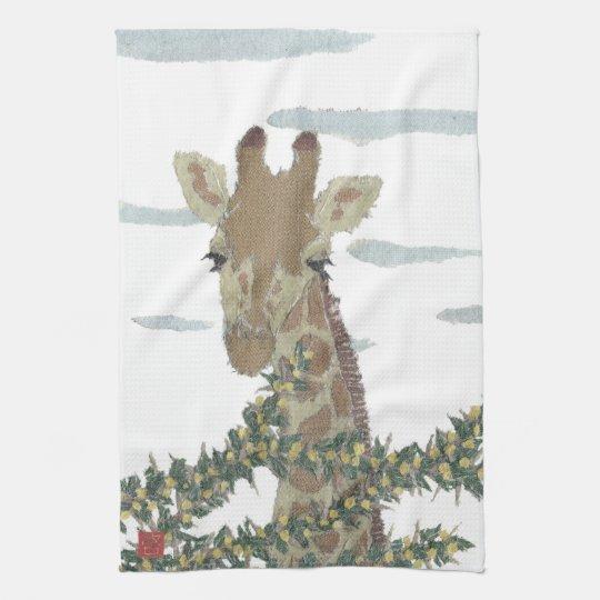 Giraffe, Africa, Animal, Wildlife Towel