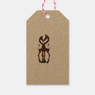 Giraffe Africa Personalize Destiny Destiny'S Pack Of Gift Tags