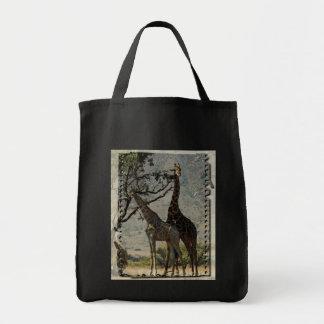 Giraffe Africa Personalize Destiny Destiny'S Tote Bag