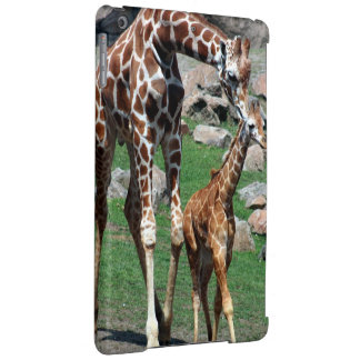 Giraffe Africa Safari Animal Personalize Giraffes iPad Air Cover