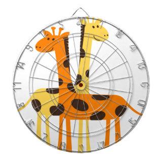 giraffe africa safari wildlife dartboard