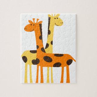 giraffe africa safari wildlife jigsaw puzzle