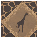 Giraffe and Animal Print Diamond Pattern. Fabric