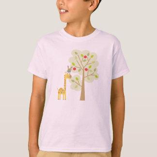 Giraffe and Bunny T-Shirt