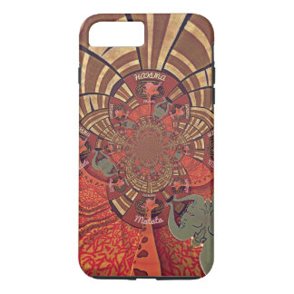 Giraffe Animal Hakuna Matata Design iPhone 8 Plus/7 Plus Case