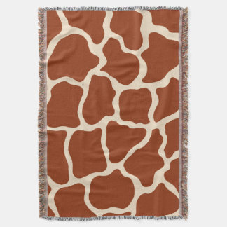 Giraffe Animal Print Throw Blanket Gift