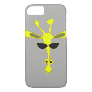 Giraffe Apple iPhone 7, Barely There Phone Case