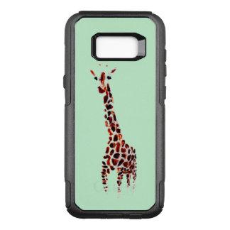 Giraffe Art OtterBox Commuter Samsung Galaxy S8+ Case