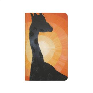 Giraffe at Sunset Journal