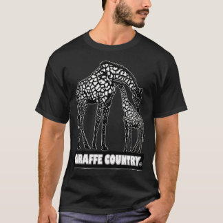 Giraffe & Baby Animal Country Designer Clothes T-Shirt