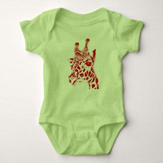 """Giraffe"" Baby Jersey Bodysuit"