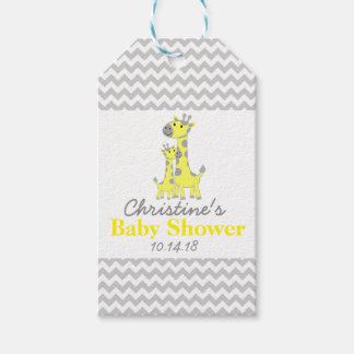Giraffe Baby Shower Favor Tags|Pack of Gift Tags