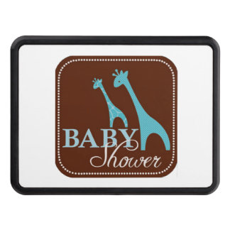 Giraffe Baby Shower Tow Hitch Cover